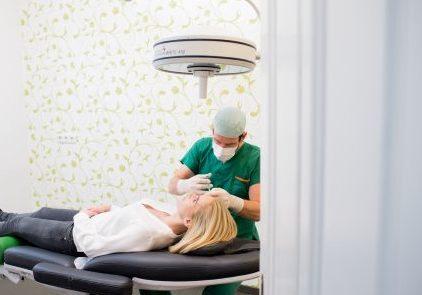 Unterspritzung Botox OP 2